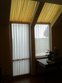 Curtains for roof windows