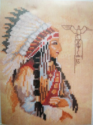 Lanarte - 34770 Embroidery kits